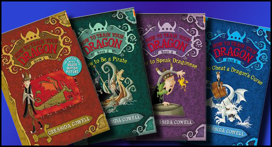 How to Train your Dragon books by Cressida Cowell