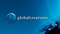 logo for the Global Creatures company