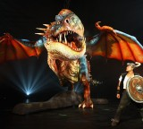 Deadly Nadder Dragon at Media Launch Event