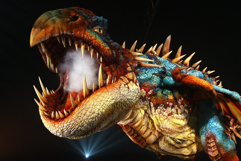 Deadly Nadder Dragon at Media Launch Event « NightFuryLive ...
