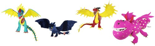 How to Train Your Dragon plush dragon toys
