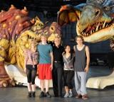 Cast Meets Their Dragon Costars
