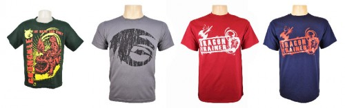 Kids shirts for the How to Train Your Dragon Arena Spectacular live show merchandise