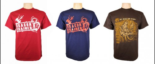Mens dragon trainer t-shirts for How to Train Your Dragon Arena Spectacular merchandise
