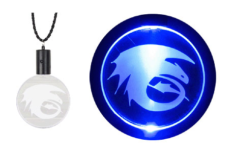 Night Fury Medallion souvenir How to Train Your Dragon Arena Spectacular