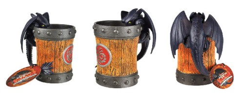 How to Train Your Dragon Arena Spectacular Toothless dragon tankard souvenir