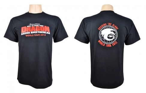 How to Train Your Dragon Arena Spectacular World Tour T-shirt