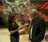 Backstage with Toothless and the Dragons on CNN