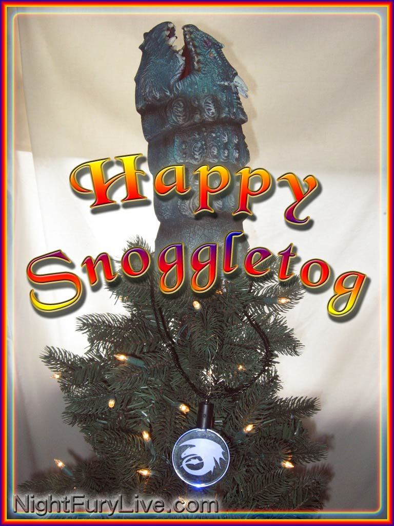 photo a viking snoggletog tree inspired by the how to train your dragon vip merchandise - How To Train Your Dragon Christmas