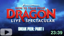 Sneak Peek at How to Train Your Dragon Live Spectacular