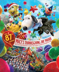 Macy's Thanksgiving Day parade poster 2013