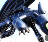 Toothless Takes a Test Flight for the Macy's Parade