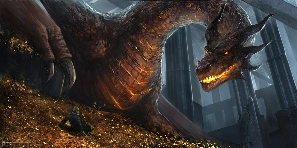 Smaug – A Seriously Bad Dragon « NightFuryLive: How to ...