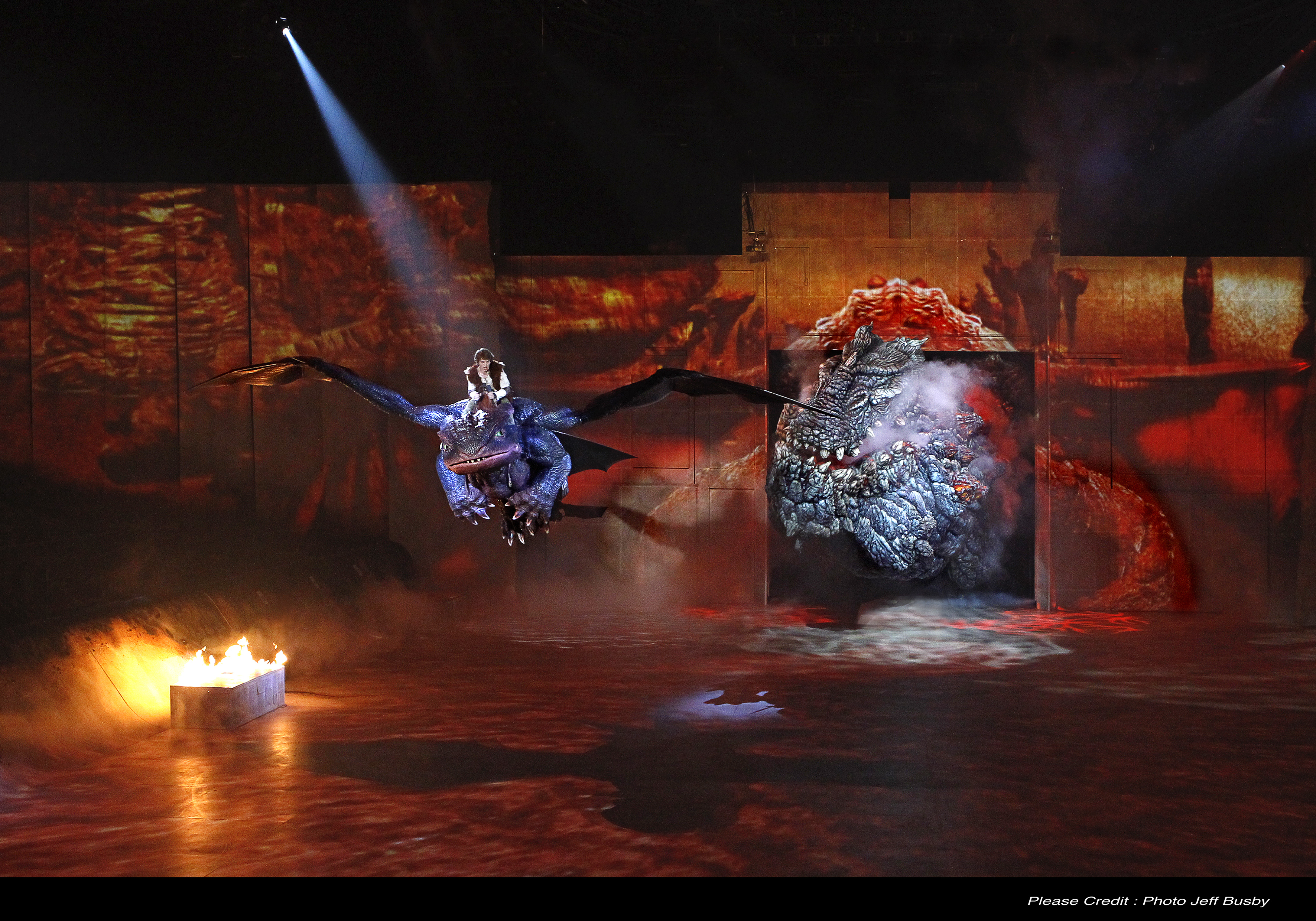 Dreamworks dragons live show lands in china this summer hiccup and toothless fly away from red death how to train your dragon arena spectacular ccuart Gallery