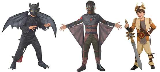 How to Train Your Dragon movie costumes