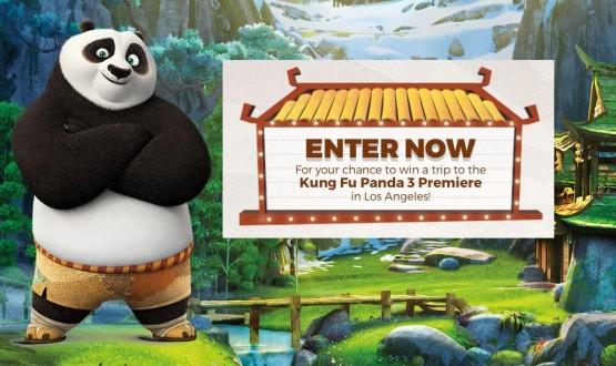 Kung Fu Panda 3 sweepstakes