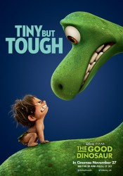 Arlo and Spot from Pixar's The Good Dinosaur