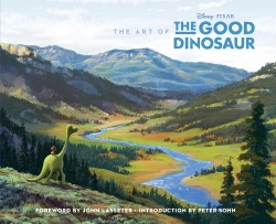The Art of the Good Dinosaur Pixar movie