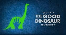 Pixar's The Good Dinosaur movie logo